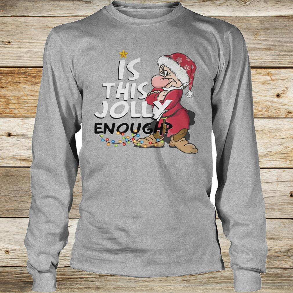 Premium Is this jolly enough shirt Longsleeve Tee Unisex