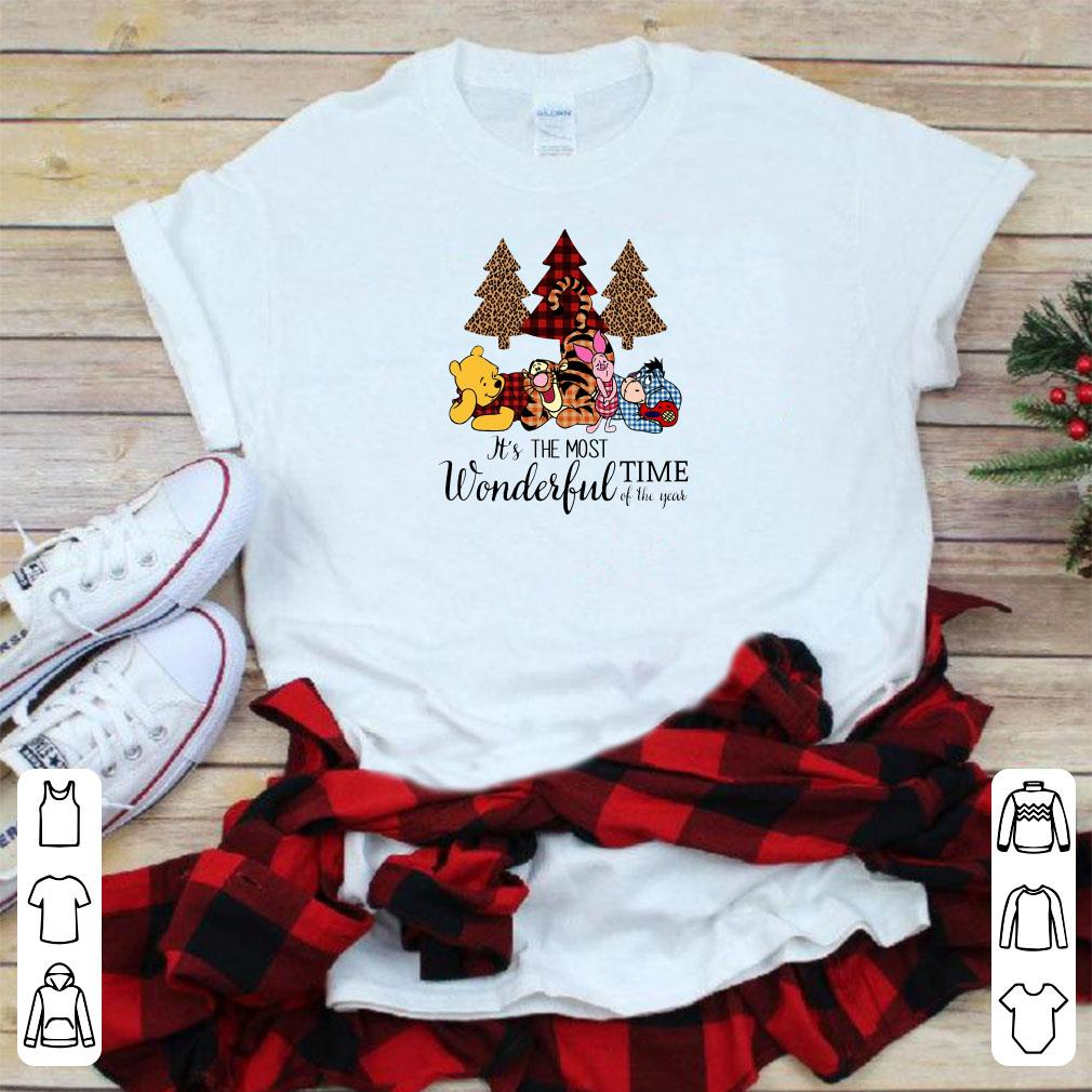 Disney S Pooh Friends It S The Most Wonderful Time Of The Year Shirt 1 1.jpg