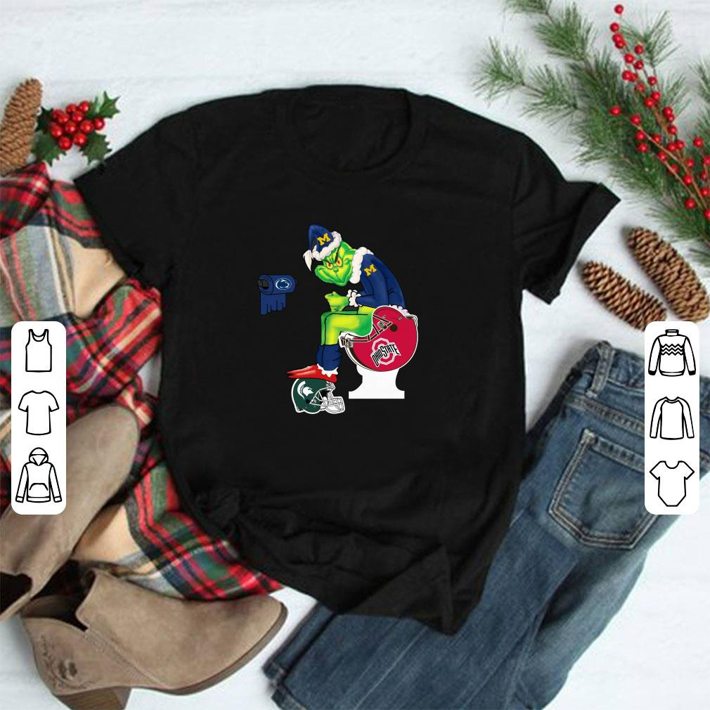 Grinch Santa Michigan Wolverines Toilet Ohio State Buckeyes Shirt 1 1.jpg