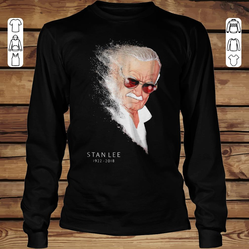 Nice Infinity War Thanos Disintegration Stan Lee shirt sweater Longsleeve Tee Unisex