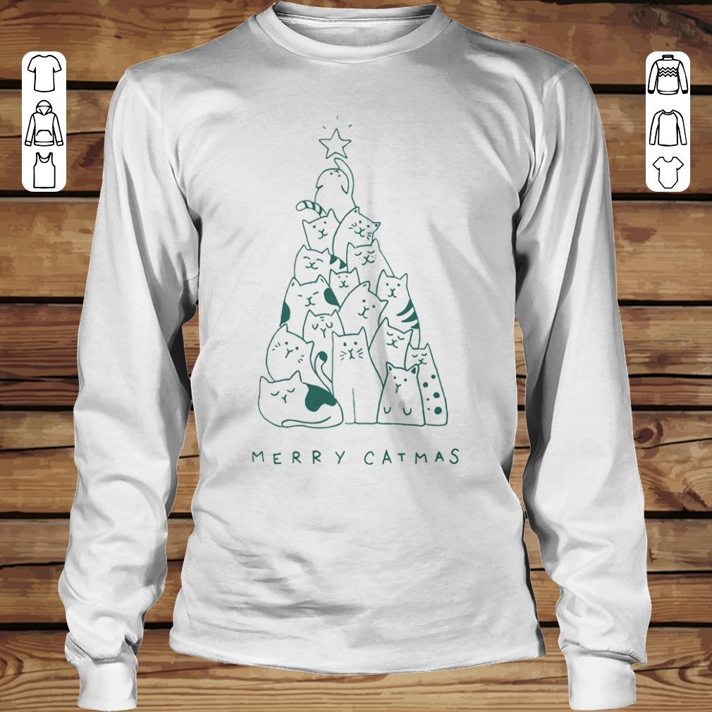Official Merry catmas shirt longsleeve Longsleeve Tee Unisex