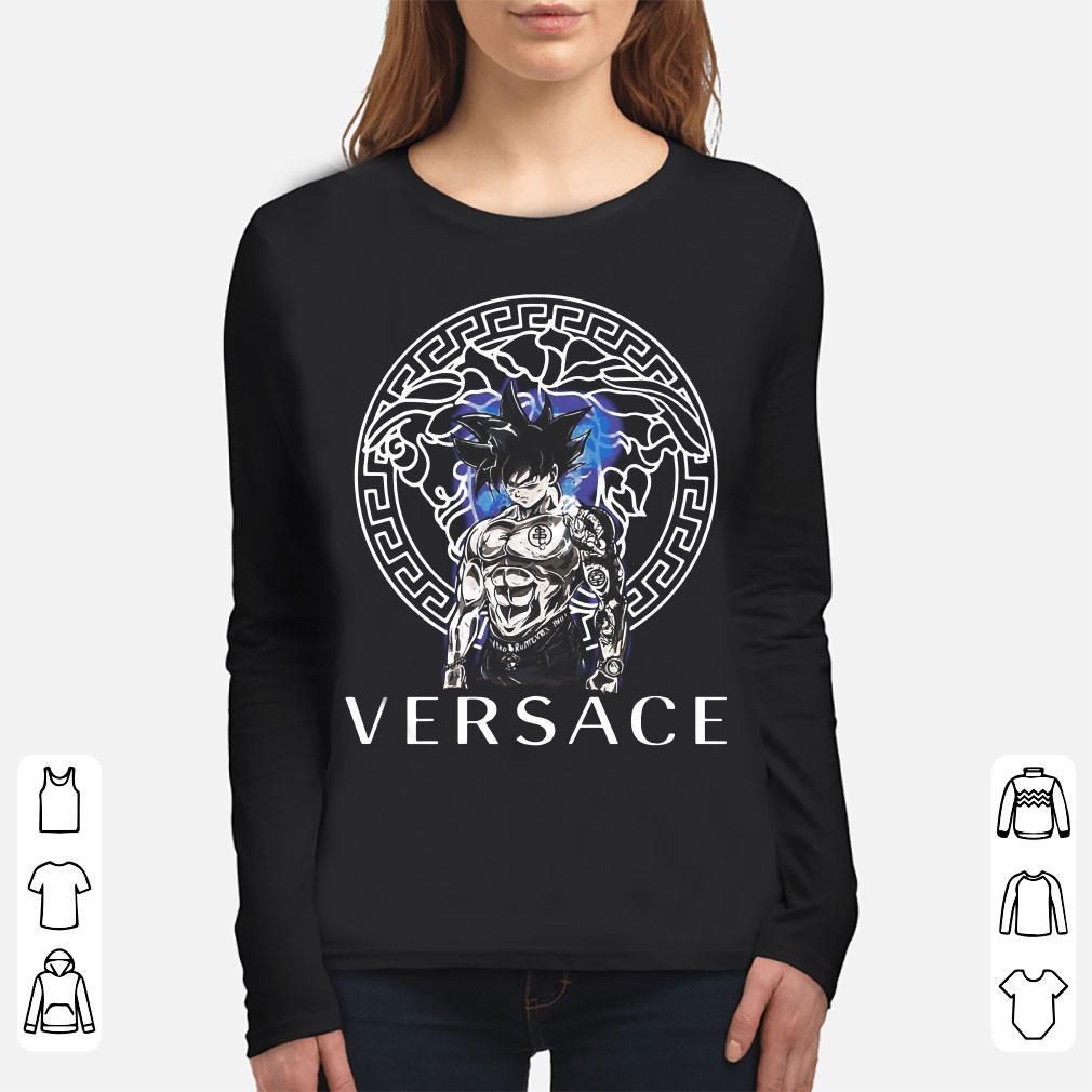 1bd5d057 Original Dragon Ball Super Goku Ultra instinct Versace shirt, hoodie