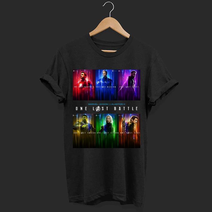 Marvel Avengers Endgame One Last Battle Characters Shirt 1 1.jpg