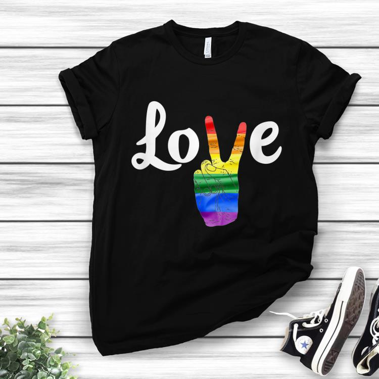 Awesome Love Peace Sign Gay Pride Shirt 1 1.jpg