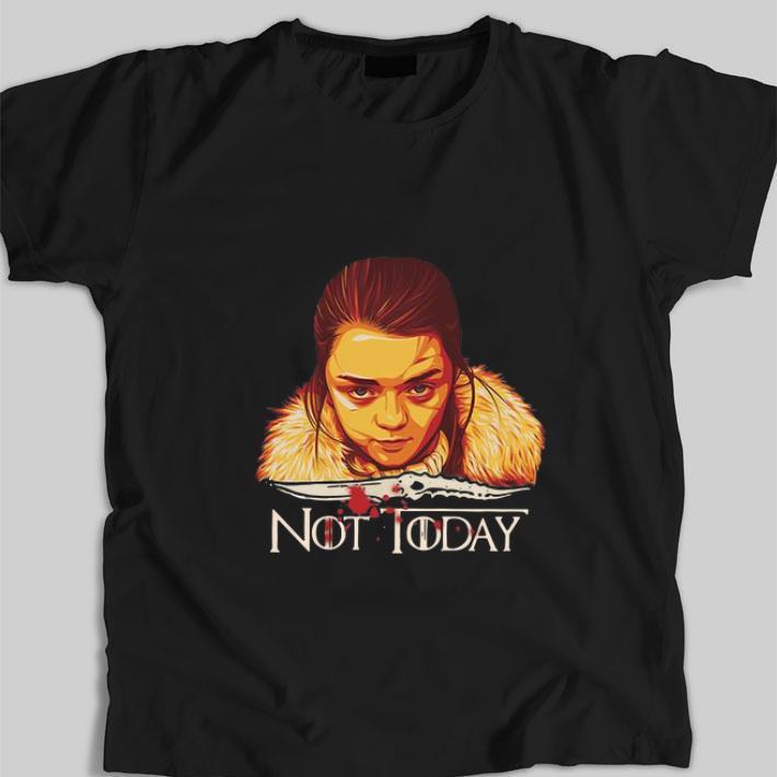 Premium Arya Stark Catspaw Blade Game Of Thrones Not Today Shirt 1 1.jpg