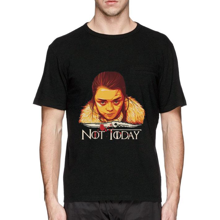 Premium Arya Stark Catspaw Blade Game Of Thrones Not Today Shirt 2 1.jpg