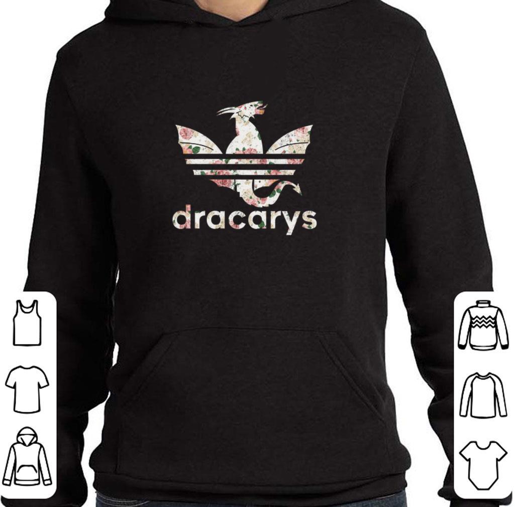 Premium Flowers Dracarys Adidas Game Of Thrones shirt
