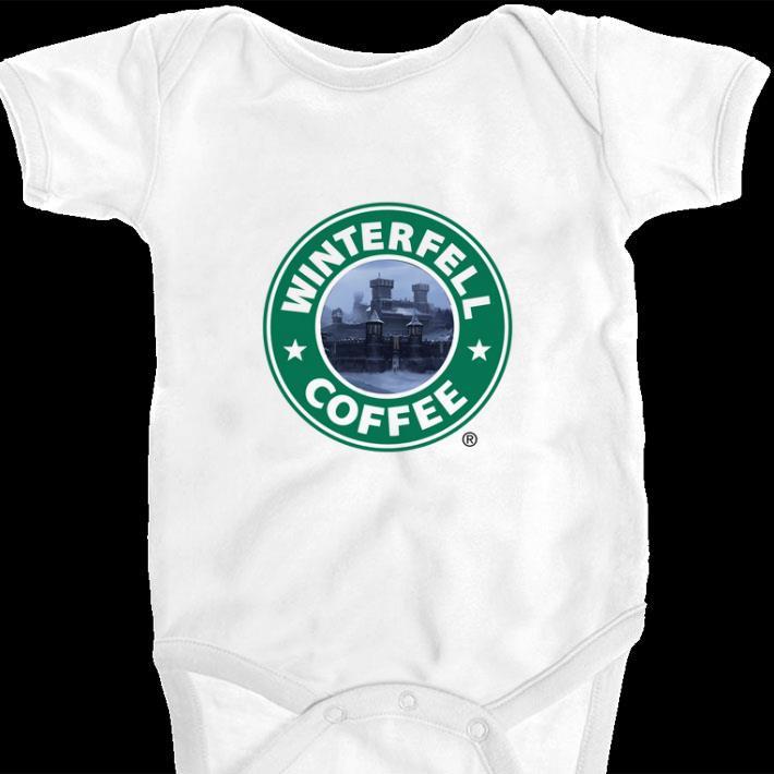 Awesome Game Of Thrones Winterfell Starbucks Coffee Shirt 1 1.jpg