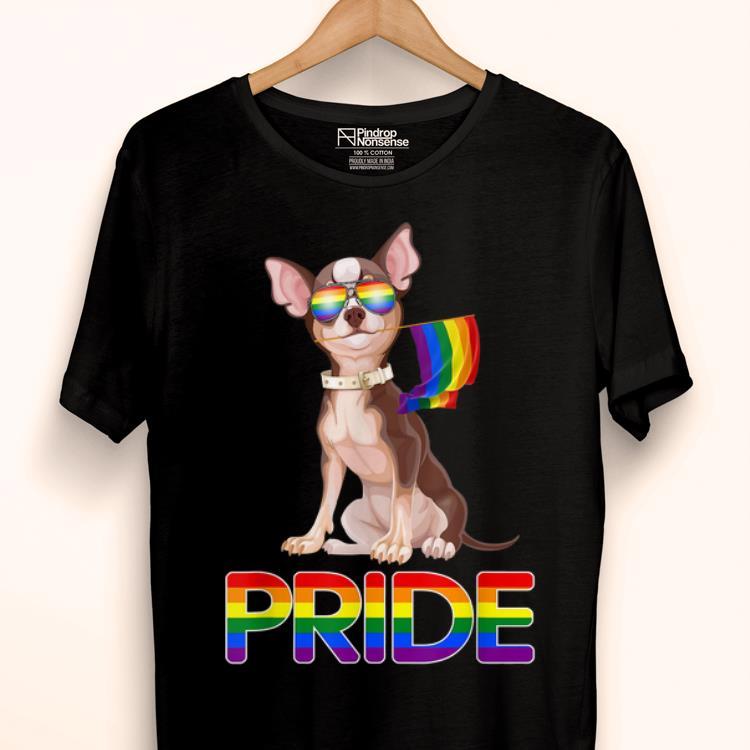 Lesbian Gay Pride Lgbtq Rainbow Tee Chihuahua Dog Gift Shirt 1 1.jpg