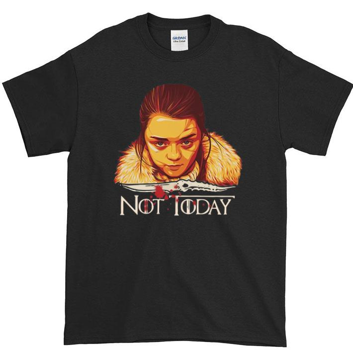 Nice Arya Stark Catspaw Blade Game Of Thrones Not Today Shirt 1 1.jpg