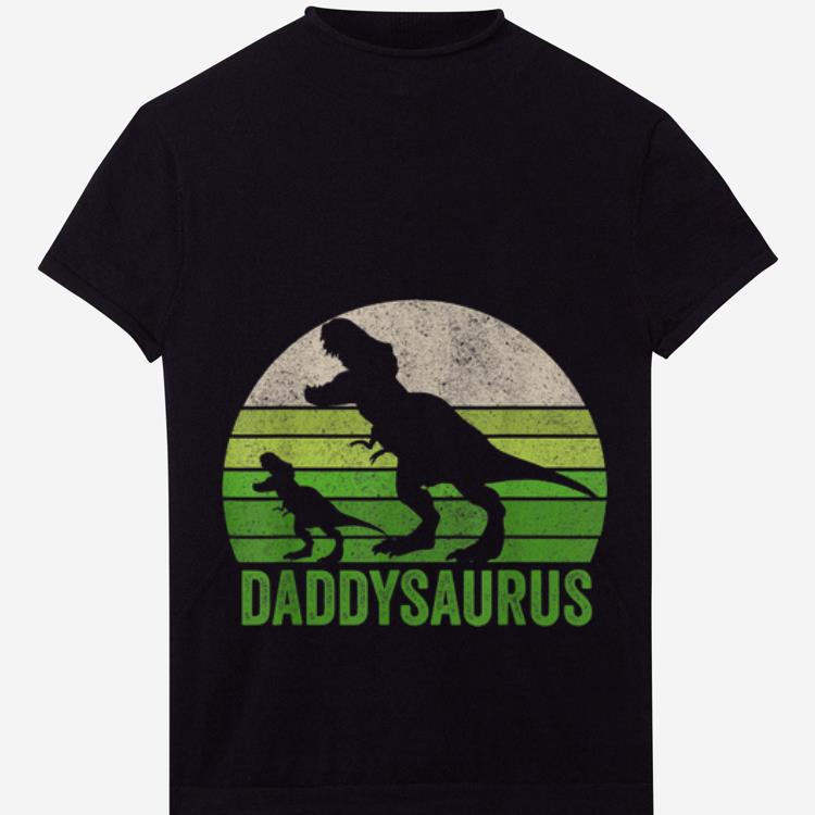 Official Daddy Dinosaur Daddysaurus Fathers Day Shirt
