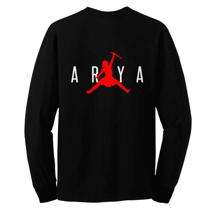 Pretty Arya Stark Jumpman Game of Thrones shirt
