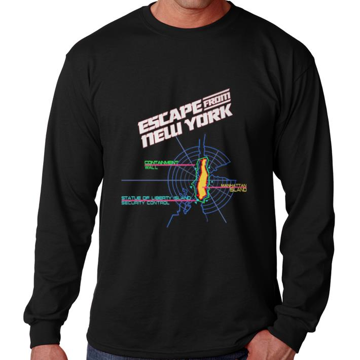 Awesome Escape from New York Containment Wall Manhattan Island Prison shirt
