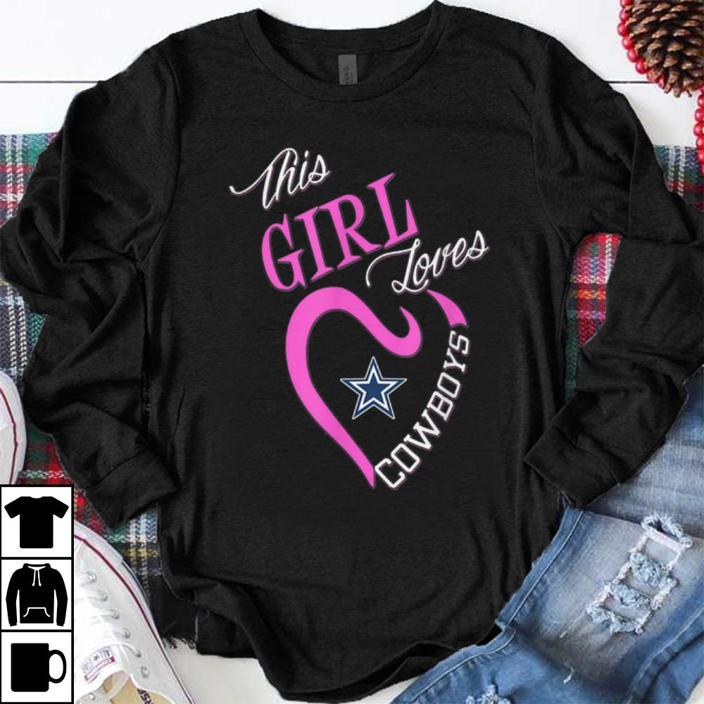 competitive price cce3d a63bc Hot trend This Girl Loves Dallas Cowboy sweater