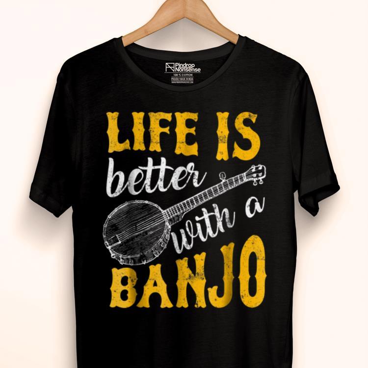 Official Banjo Player Bluegrass Fans Folk Music Lover Shirt 1 1.jpg