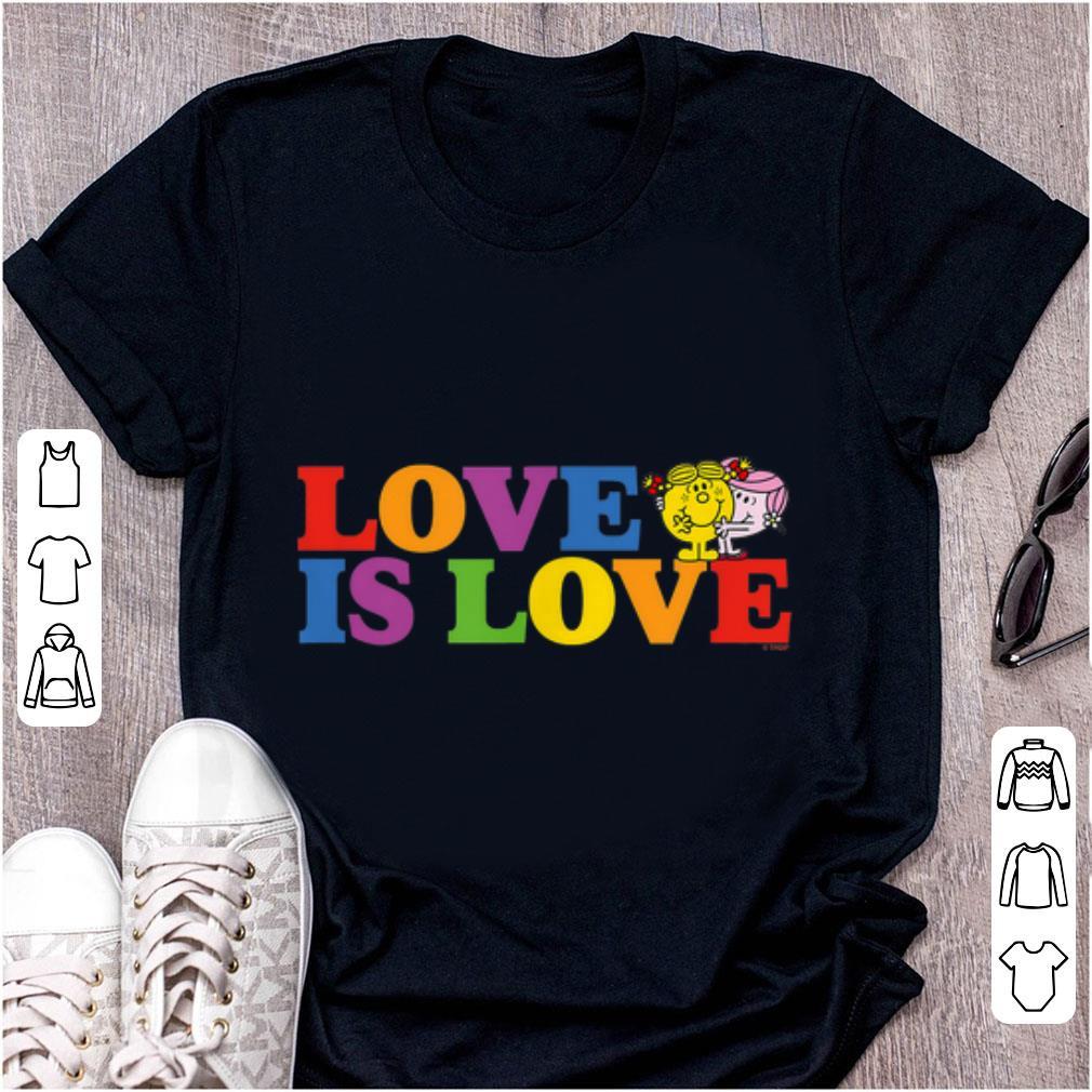 Top Love Is Love Slogan Rainbow Pride Mr Men Little Miss Shirt 1 1.jpg
