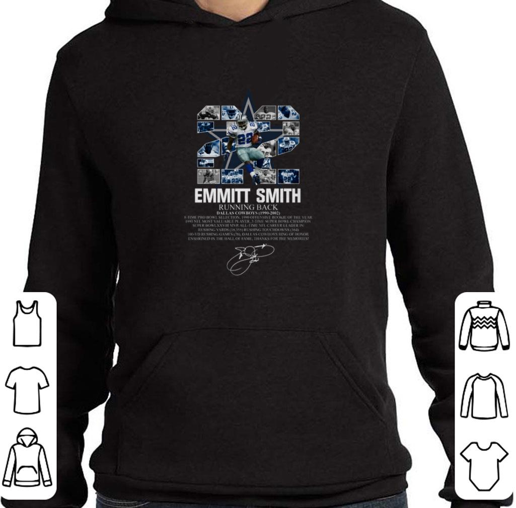 newest ad2b2 07469 Awesome 22 Emmitt Smith running back Dallas Cowboys 1990-2002 signature  shirt