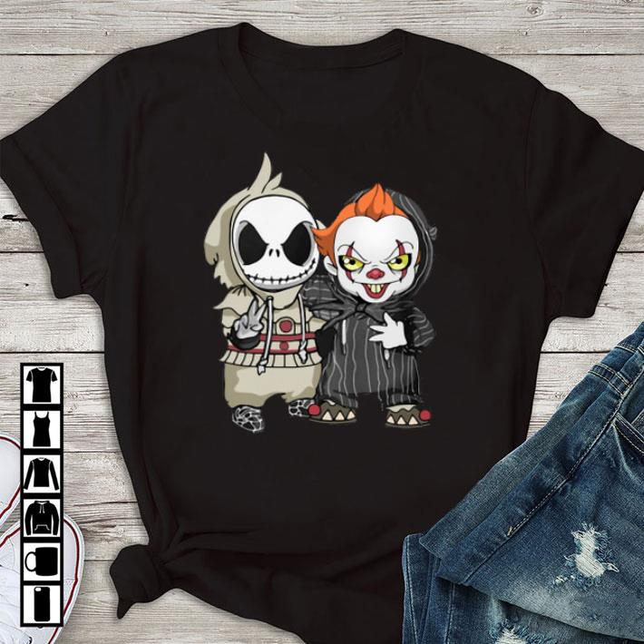 Awesome Baby Jack Skellington And Pennywise Shirt 1 1.jpg