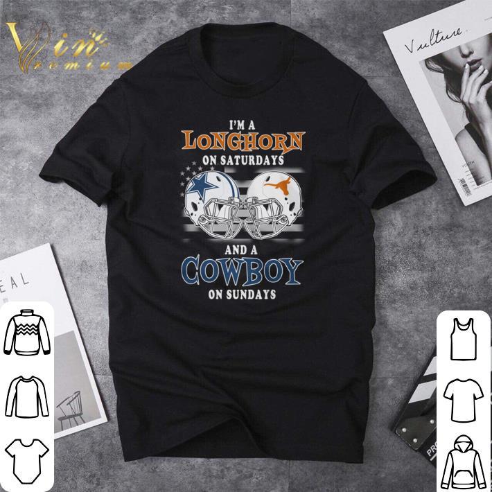 Funny I M A Texas Longhorns On Saturdays And A Dallas Cowboys On Sundays Shirt 1 1.jpg