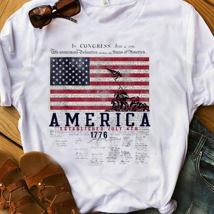 Premium America Established July 4th 1776 Signature Shirt 1 1.jpg