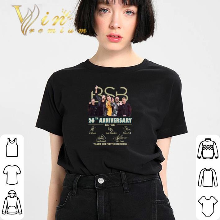Backstreet Boys Christmas Sweater.Premium Backstreet Boys Bsb 26th Anniversary 1993 2019 Signatures Shirt