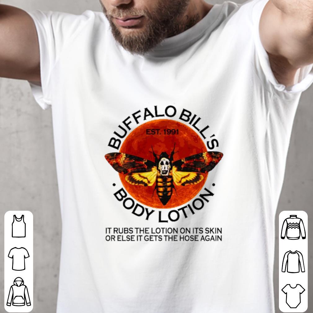 Premium Buffalo Bill S Est 1991 Body Lotion It Rubs The Lotion Sunset Shirt 2 1.jpg
