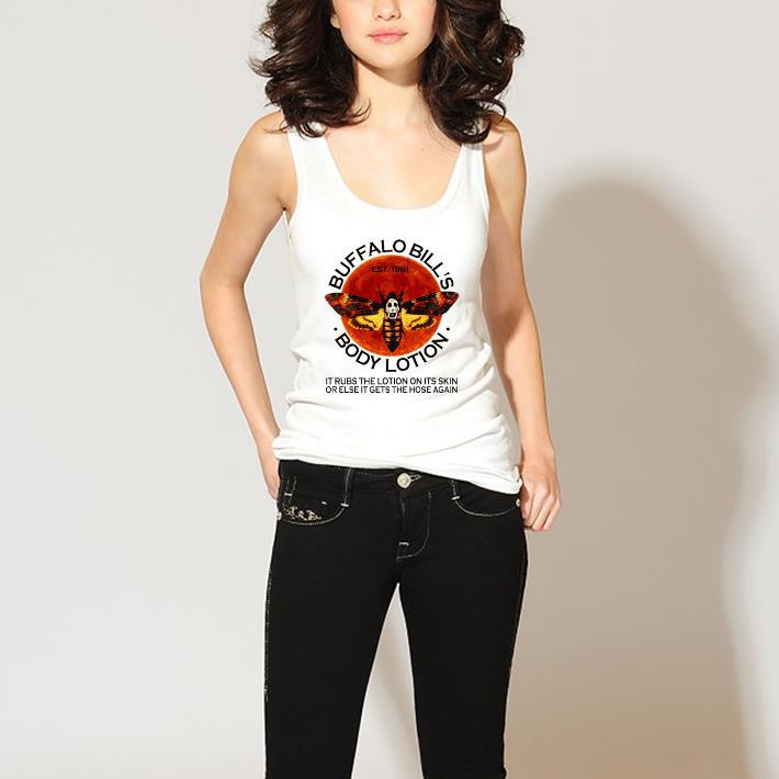 Premium Buffalo Bill S Est 1991 Body Lotion It Rubs The Lotion Sunset Shirt 3 1.jpg