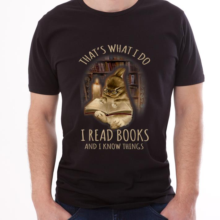 Pretty Bunny That S What I Do I Read Books And I Know Things Shirt 3 1.jpg