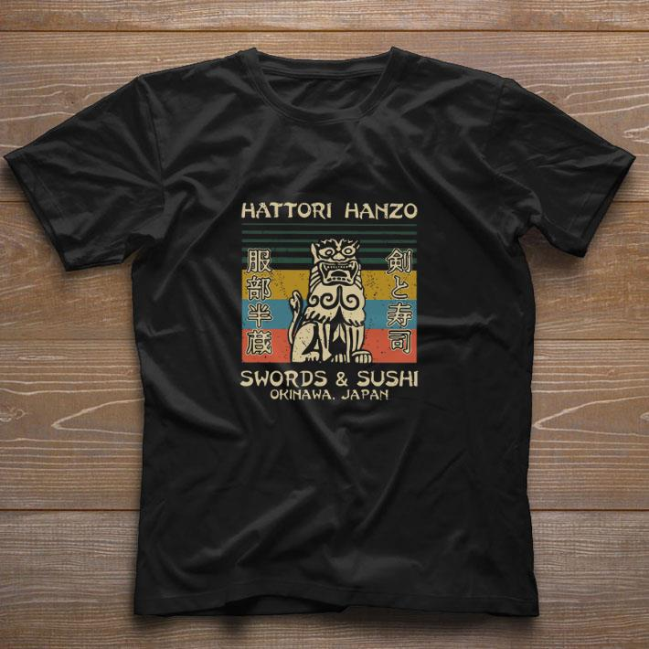 Pretty Hattori Hanzo Swords Sushi Okinawa Japan Vintage Shirt 1 1.jpg