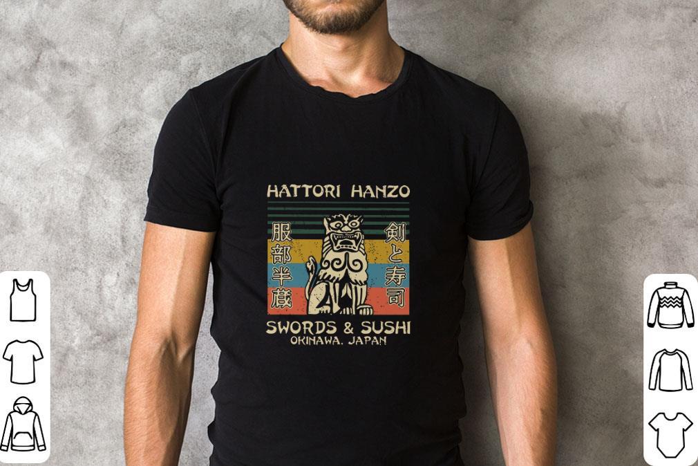 Pretty Hattori Hanzo Swords Sushi Okinawa Japan Vintage Shirt 2 1.jpg