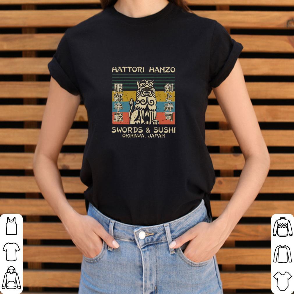 Pretty Hattori Hanzo Swords Sushi Okinawa Japan Vintage Shirt 3 1.jpg