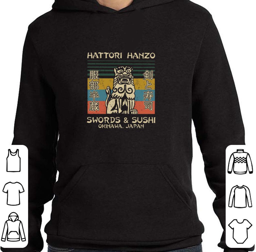 Pretty Hattori Hanzo Swords & Sushi Okinawa Japan vintage shirt