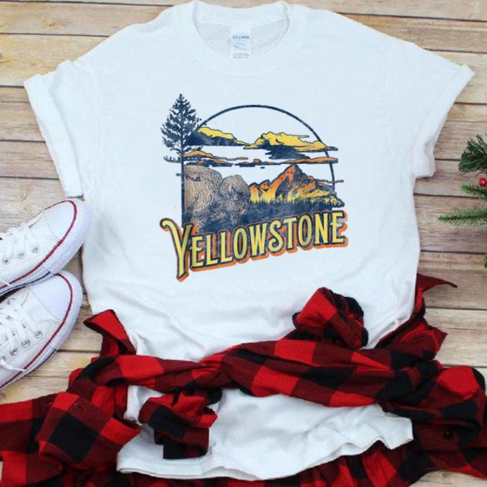 Top Vintage Yellowstone National Park Retro Shirt 1 1.jpg