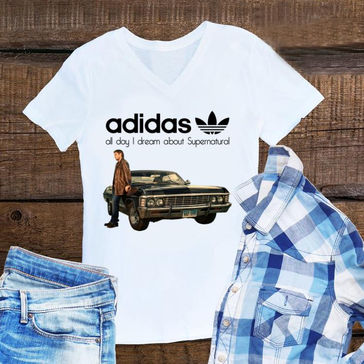 Awesome All Day I Dream About Supernatural Adidas Shirt 1 1.jpg