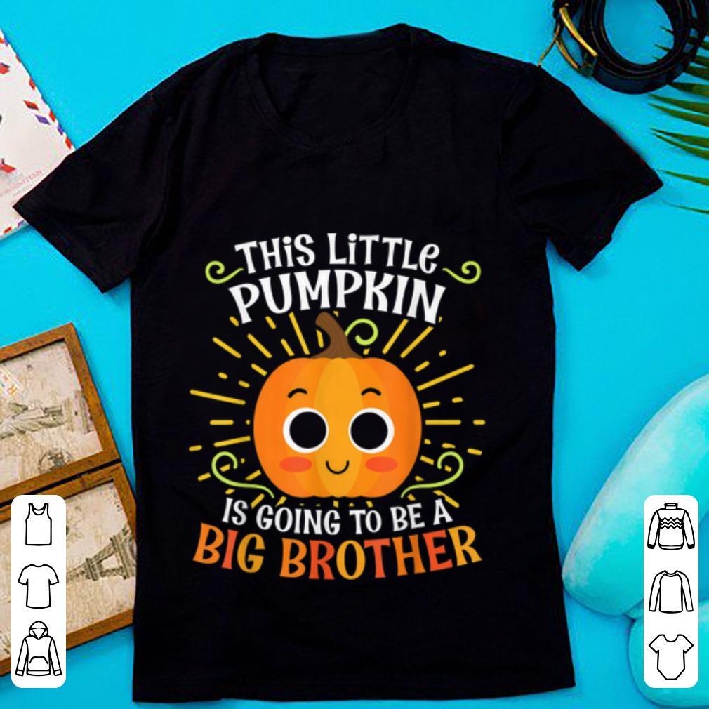 Awesome Big Brother Cute Halloween Pumpkin Pregnancy Announcement Shirt 1 1.jpg
