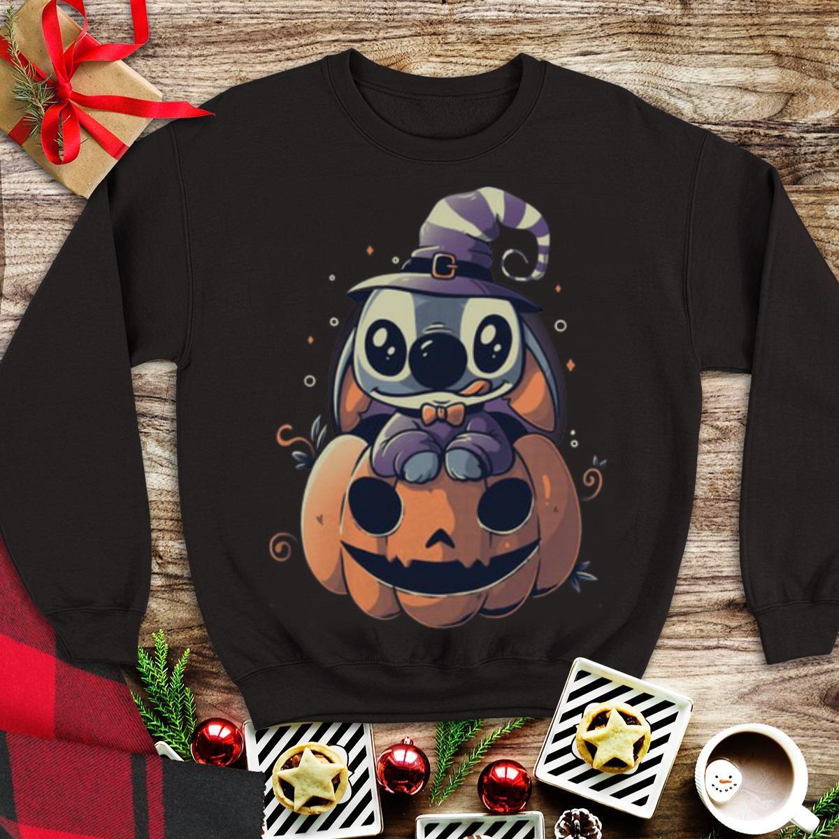 Awesome Stitch Pumpkin Happy Halloween Shirt 1 1.jpg