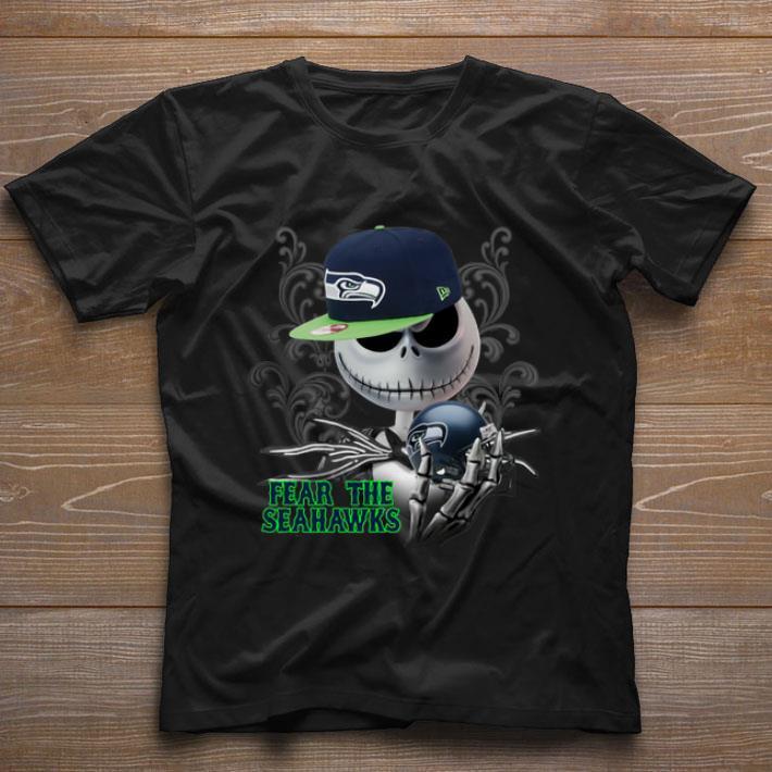 Funny Jack Skellington Fear The Seattle Seahawks Shirt 1 1.jpg