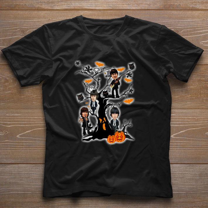 Official The Beatles Ghost Boo Pumpkin On The Tree Halloween Shirt 1 1 1.jpg