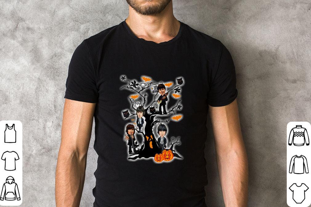 Official The Beatles Ghost Boo Pumpkin On The Tree Halloween Shirt 2 1 1.jpg