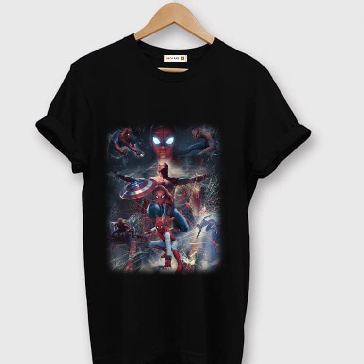 Original Captain America Shield Marvel Spider Man Far From Home Shirt 1 1.jpg