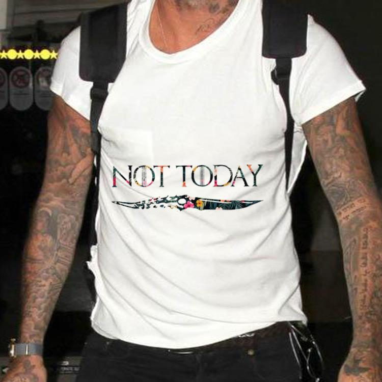 Awesome Floral Not Today Arya Stark Game Of Thrones Shirt 2 1.jpg