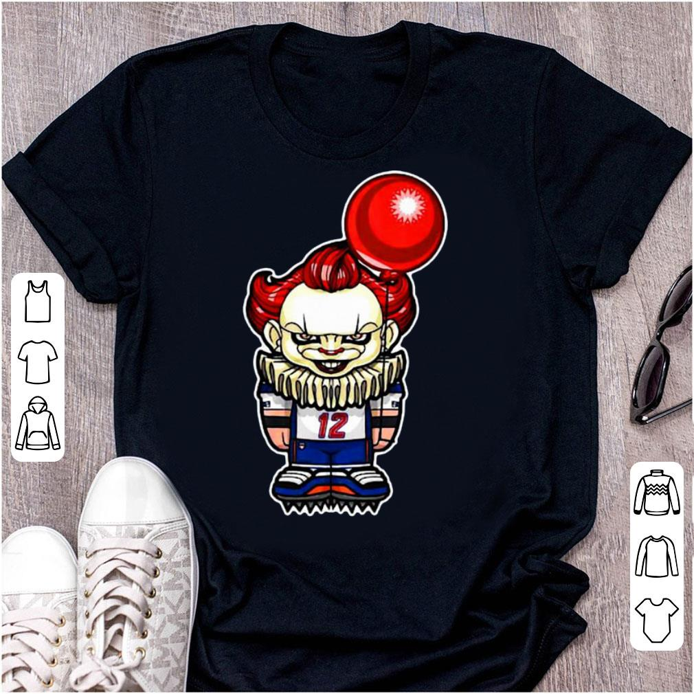 Awesome Tom Brady Pennywise New England Patriots Nfl Shirt 1 1.jpg