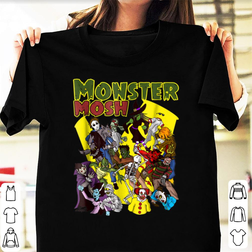 Hot Monster Horror Movie Parody Halloween Group Shirt 1 1.jpg