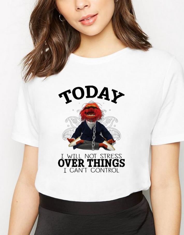Original Today I Will Not Stress Over Things I Can T Control The Muppets Yoga Shirt 3 1.jpg