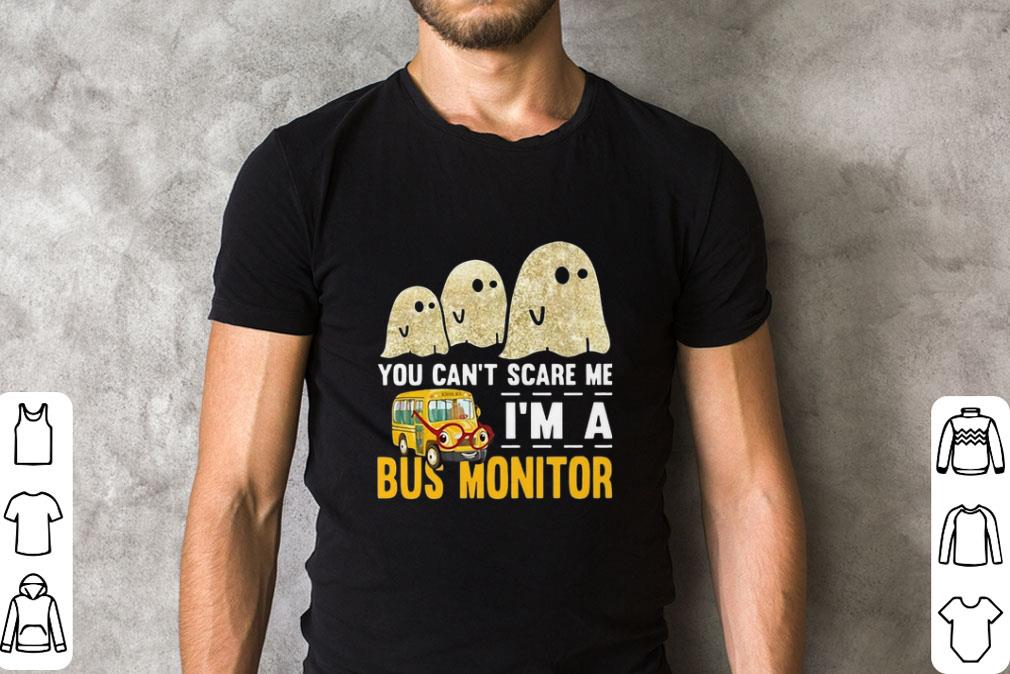 Premium Boo Ghost You Can T Scare Me I M A Bus Monitor Shirt 2 1.jpg