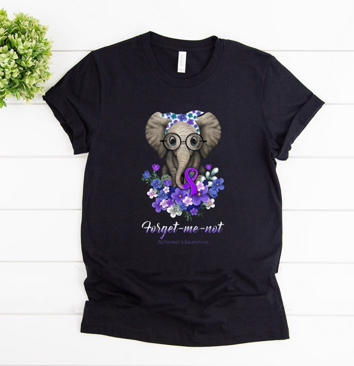 Premium Forget Me Not Alzheimer S Awareness Elephant Shirt 1 1.jpg