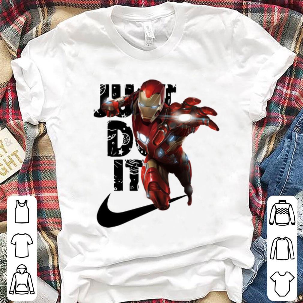 Premium Iron Man Nike Just Do It Shirt 1 1.jpg