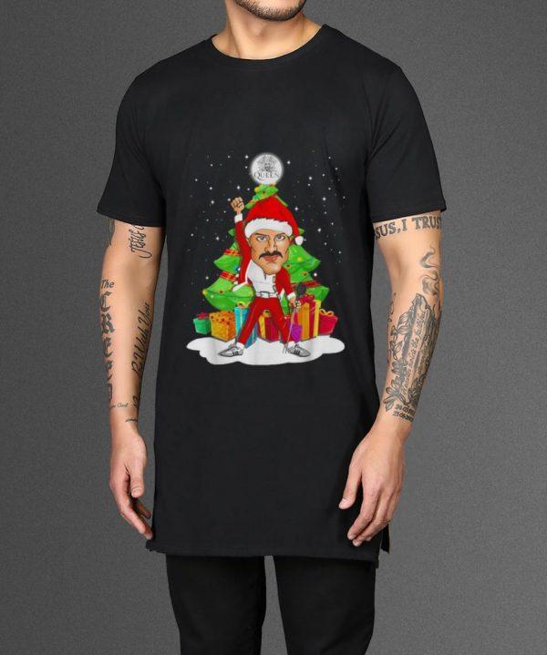 Funny Freddie Mercury Queen Christmas Tree Shirt 2 1.jpg