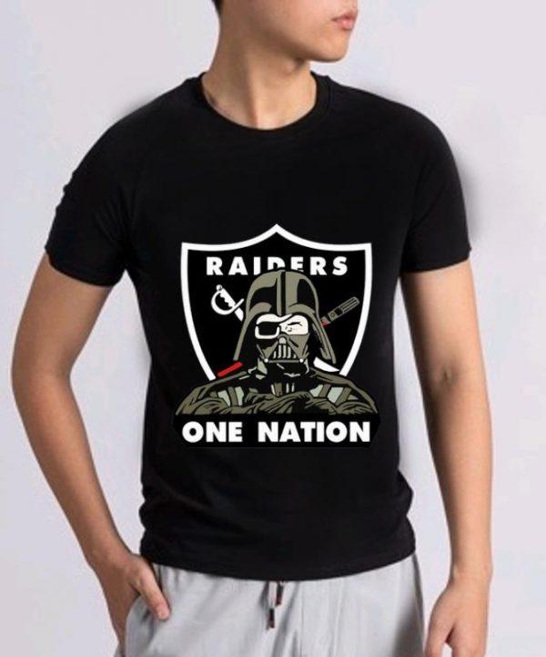 Nice Darth Vader Nfl Oakland Raiders One Nation Shirt 2 1.jpg