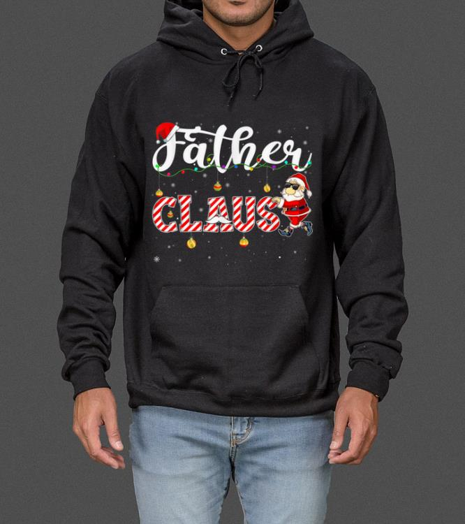 Top Cute Christmas Father Santa Hat Gift Matching Family Xmas sweater
